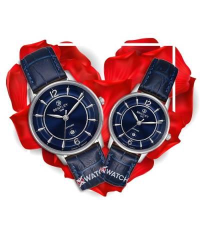 Đồng hồ đôi Bentley BL1853-10MWNN-MS-GL-X + BL1853-10LWNN-LS-GL-X