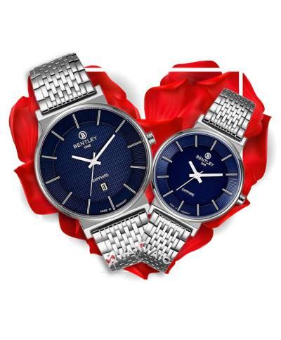 Đồng hồ đôi Bentley BL1855-10MWNI-MS-X + BL1855-10LWNI-LS-X