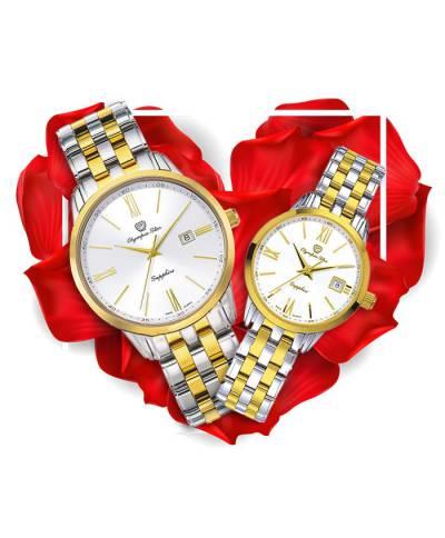 Đồng hồ đôi OP OPA58061MSK-T + OPA58061LSK-T