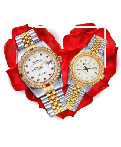 Đồng hồ đôi OP OP89322DSK-T + OP68322DSK-T-HT