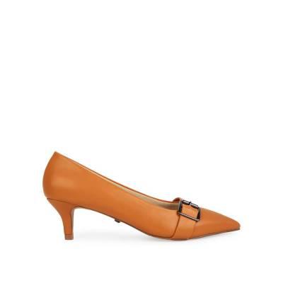 Giày cao gót mũi nhọn phối khóa BN0148