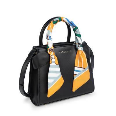 Túi xách tay thời trang phối vải HB0120