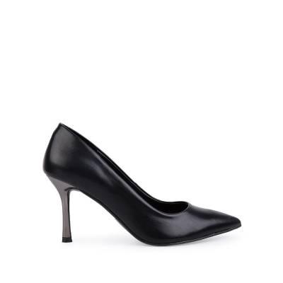 Giày cao gót mũi nhọn gót mạ ánh bạc BN0139