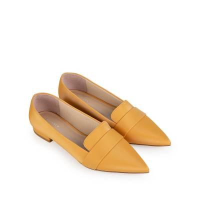Giày búp bê mũi nhọn đơn giản BB0057