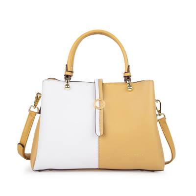 Túi xách tay phối 2 màu HB0113