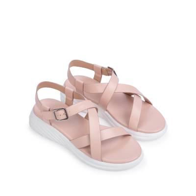Giày sandal đế bánh mì quai chéo SK0051