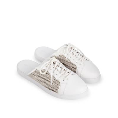 Giày Bata phối vải trang trí BA0020