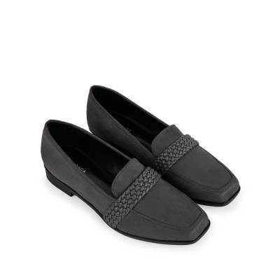 Giày mọi họa tiết đan trang trí MO0015