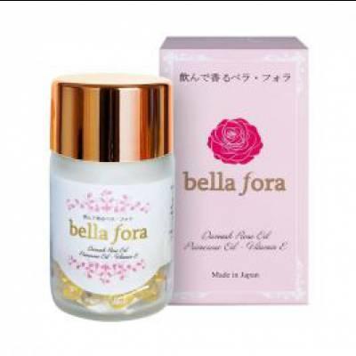 Viên Uống Thơm Tự Thân Và Nội Tiết Tố Nữ Trắng Da Chống Lão Hóa Bella Fora Nhật Bản
