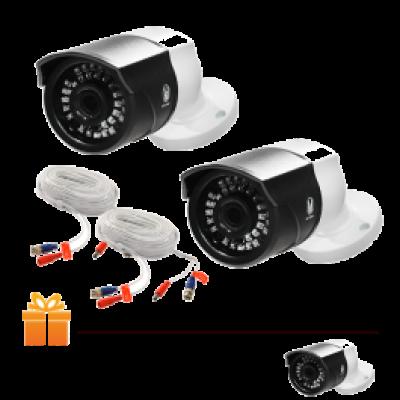 Hệ thống 2 Camera quan sát HS Smart FAMI Full HD 1080 & 1 Đầu ghi hình + Ổ cứng lưu trữ 1 TB   TẶNG: 1 Camera ghi hình cùng loại