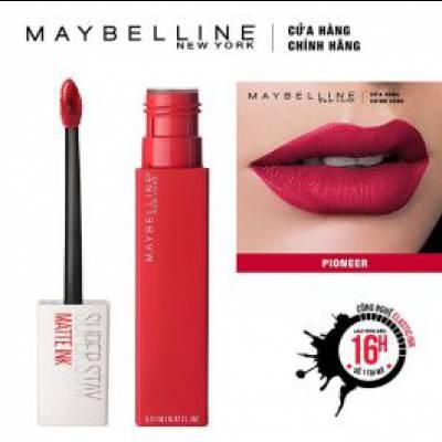 Maybelline - Son Kem Lì Super Stay Matte Ink 5ml - Màu 20 Pioneer