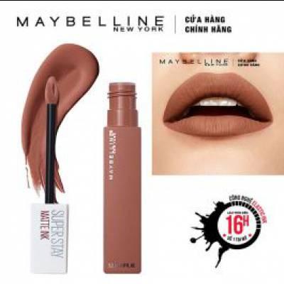 Maybelline - Son Kem Lì Super Stay Matte Ink 5ml - Màu 70 Amazonian