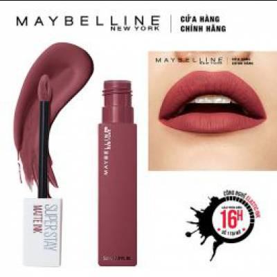 Maybelline - Son Kem Lì  Super Stay Matte Ink 5ml - Màu 80 Ruler