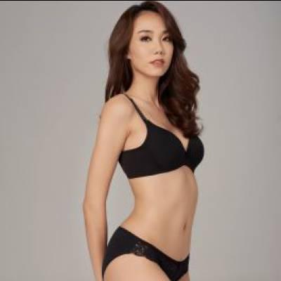 Áo ngực Misaki by Vera trơn không gọng, mút mỏng 0228
