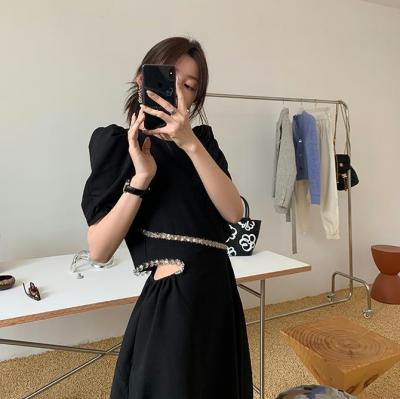 Đầm Ôm Khoét Thân Vintage