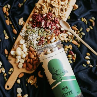 Hạt Mix Nuts 8 loại hạt dinh dưỡng nhập khẩu – DK HARVEST