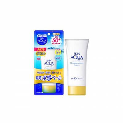 Kem chống nắng Skin Aqua UV Super Moisture Essence SPF 50+ PA++++ 80g – Mẫu 2020