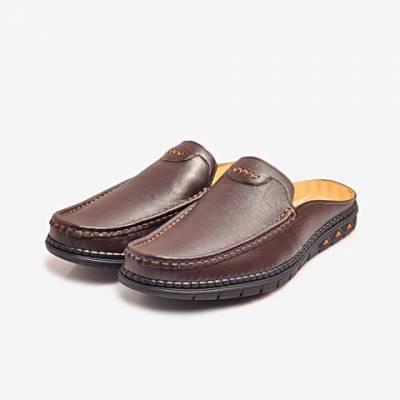 Giày Tây Da Nam Biti's DMM364770NAD (Nâu Đậm)*