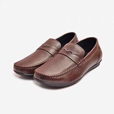 Giày Tây Da Nam Biti's DMM365770NAD (Nâu Đậm)*
