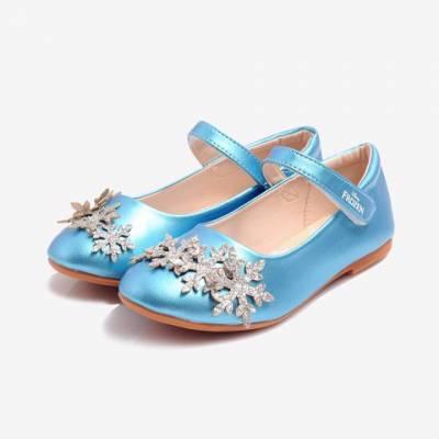 Giày Búp Bê Bé Gái Biti's Disnney Princess DBB007811XDG (Xanh Dương)*