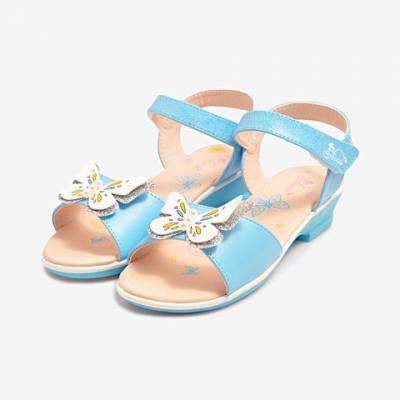 Giày Sandal Bé Gái Biti's DTG075500XDG (Xanh Dương)*