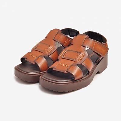 Sandal PU Nam Biti's DPM031400NAU (Nâu)*