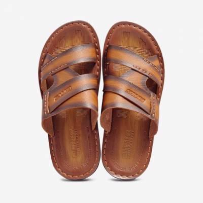 Sandal PU Nam Biti's DPM028244NAU (Nâu)*