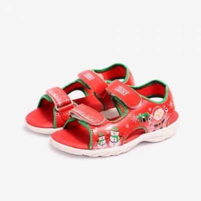 Sandal Si TPR Bé Trai Biti's DTB070000DOO (Đỏ)*
