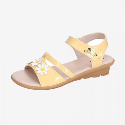 Sandal Si TPR Bé Gái DTG003288VAG (Vàng)*