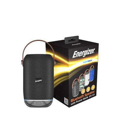 Loa Bluetooth Energizer Kiêm Pin Sạc Dự Phòng BTS-103