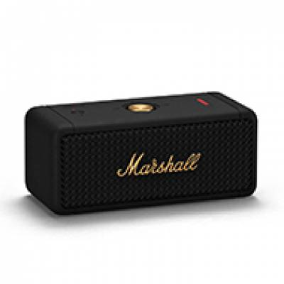 Loa Bluetooth Marshall Emberton Black&Brass
