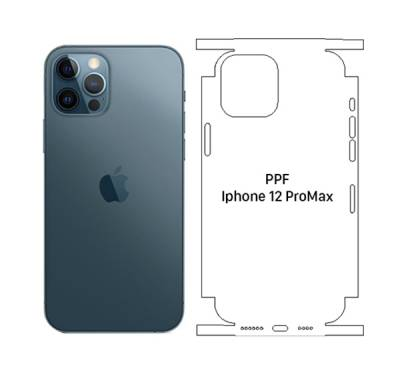 Dán Mặt Sau PPF Trong Iphone 12 Pro Max (Full)