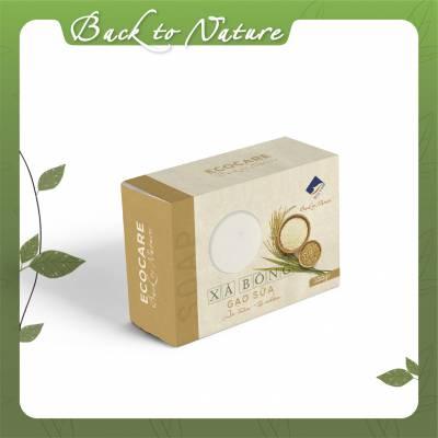 Xà bông sữa gạo Ecocare_100g