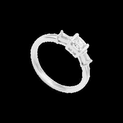 Nhẫn Bạc đính đá PNJSilver XMXMW000028