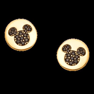 Bông tai Vàng 18K đính đá Disney PNJ Mickey ZT00S060000