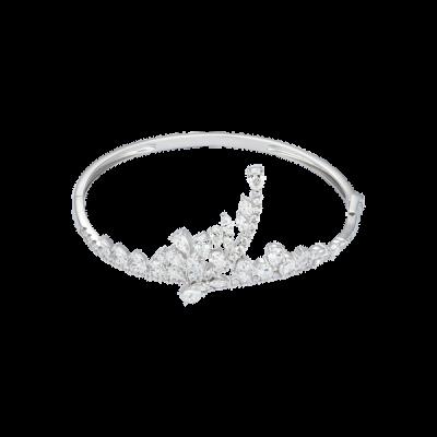 Vòng tay Kim cương Vàng trắng 14K PNJ DDDDW000192