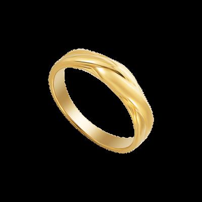 Nhẫn cưới Vàng 18K PNJ Vàng Son 0000Y000353