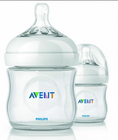 Bình sữa Avent mô phỏng tự nhiên 125ml xanh (đôi)