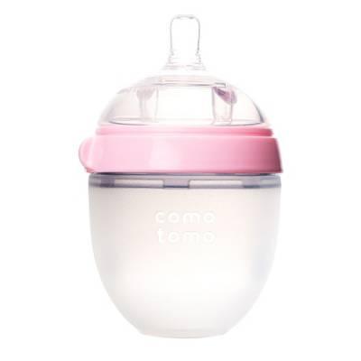 Bình sữa mềm Comotomo 150ml hồng (tách lẻ)
