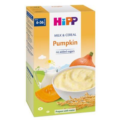 Bột sữa và rau củ dinh dưỡng HiPP – Bí đỏ, từ 6 tháng