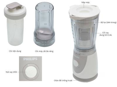 Máy xay sinh tố Philips HR2874