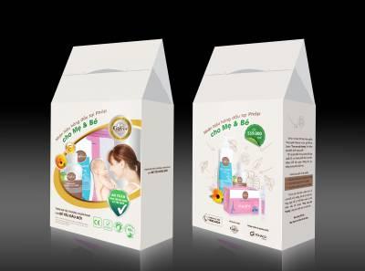 Combo đi sinh (nước muối Fysoline + Sữa tắm + kem hăm)