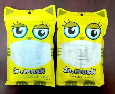 Túi 10 khẩu trang y tế trẻ em Dr mask 4 lớp