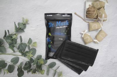 Túi 10 khẩu trang Dr mask carbon than hoạt tính 4 lớp