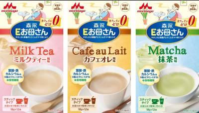 Sữa bầu Morinaga vị Trà xanh, 216g (12 gói, Nhật)