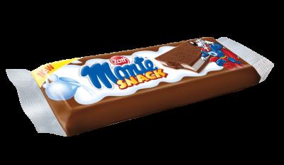 Bánh xốp Monte Snack vị kem sữa và socola 29g