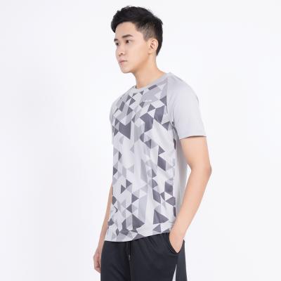 Áo T-shirt Thể thao Nam in hình đa giác TS111M1