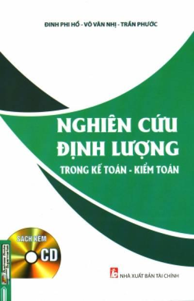 Nghiên Cứu Định Lượng Trong Kế Toán - Kiểm Toán (Kèm 1 CD)