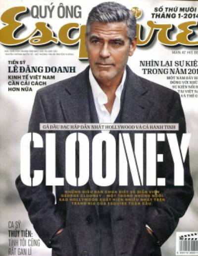 Quý Ông - Esquire (Tháng 1/2014)