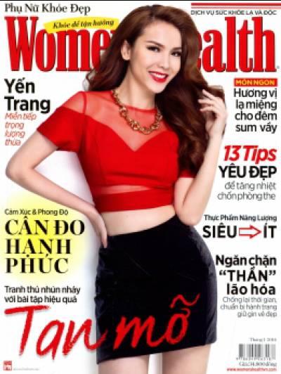Women's Health - Phụ Nữ Khỏe Đẹp (Tháng 1-2014)